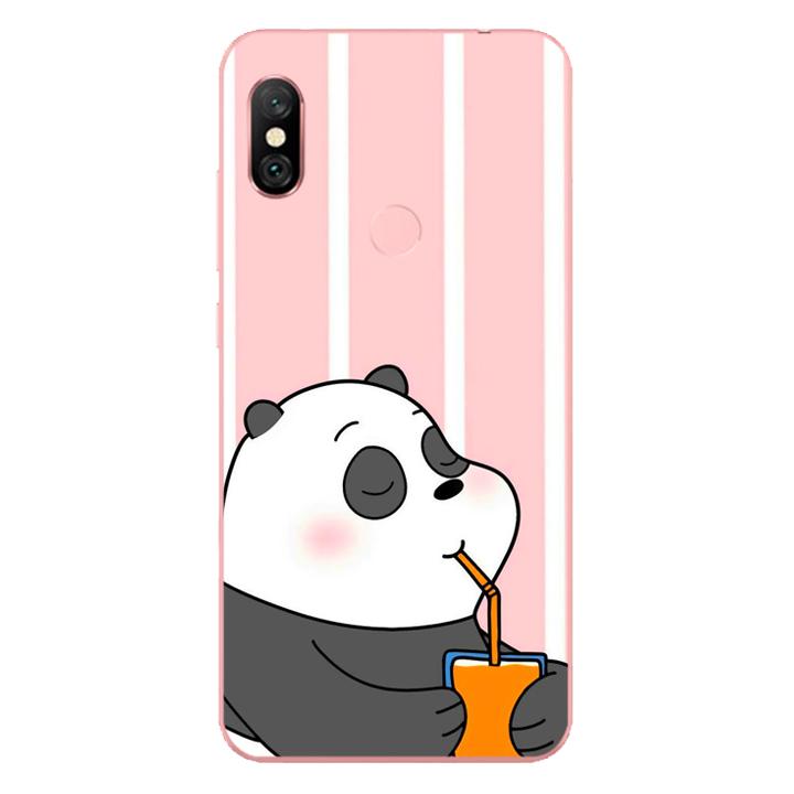 Ốp lưng dẻo Nettacase cho điện thoại Xiaomi Redmi Note 6 Pro_0399 PANDA06