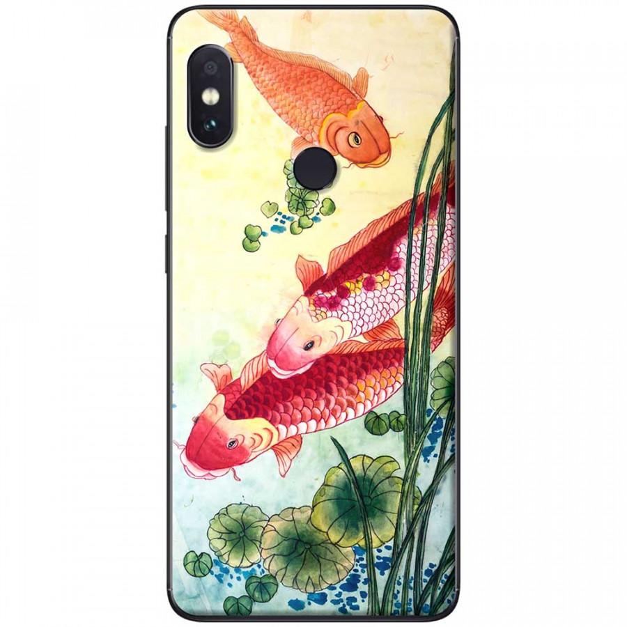 Ốp lưng dành cho Xiaomi Redmi Note 6 mẫu Cá chép