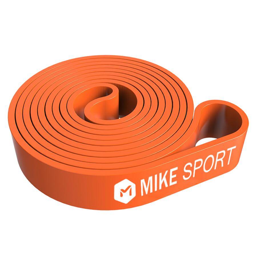 Mi Ke fitness resistance belt men and women training rally belt flat rubber band tension ring elastic band lacing belt MK8007-03 fruit green...