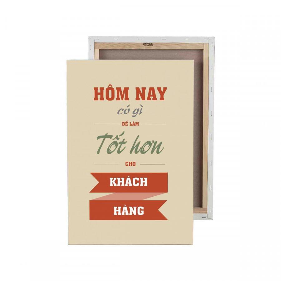 Tranh trang trí in Poster ( không khung ) Hôm nay có gì tốt hơn để làm cho khách hàng - 8234975 , 4600985009829 , 62_16641538 , 383000 , Tranh-trang-tri-in-Poster-khong-khung-Hom-nay-co-gi-tot-hon-de-lam-cho-khach-hang-62_16641538 , tiki.vn , Tranh trang trí in Poster ( không khung ) Hôm nay có gì tốt hơn để làm cho khách hàng