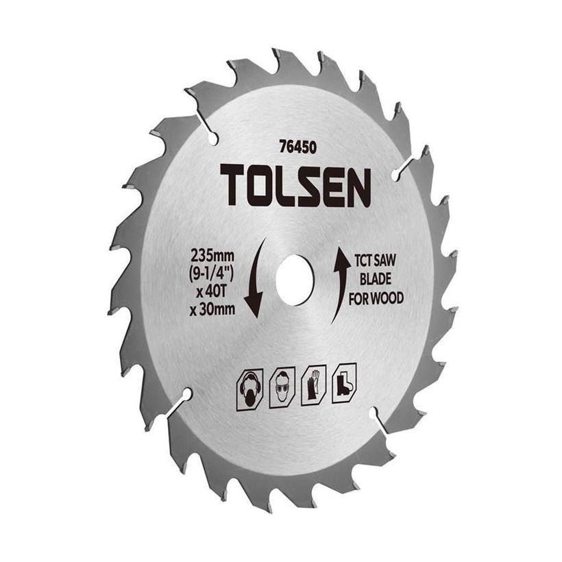 Đĩa Cắt Gỗ Tolsen 76431 - Bạc (185mm x 40 T) - 7549385 , 2068473310710 , 62_16924513 , 194000 , Dia-Cat-Go-Tolsen-76431-Bac-185mm-x-40-T-62_16924513 , tiki.vn , Đĩa Cắt Gỗ Tolsen 76431 - Bạc (185mm x 40 T)