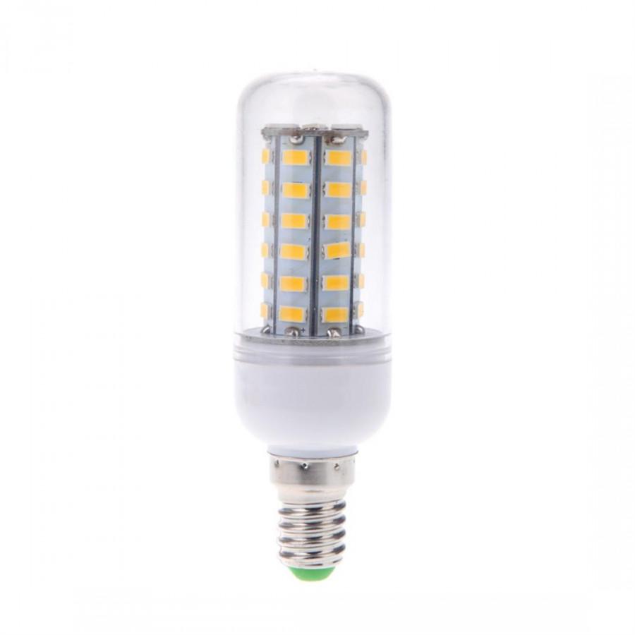 E14 10W 5730 Smd 48 Led Corn Bulb Energy Saving 360 Degrees 110V