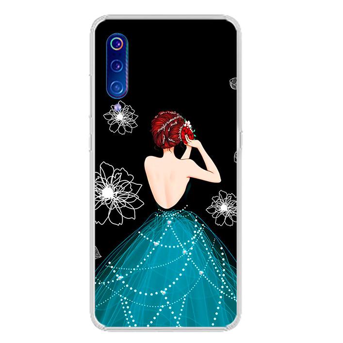 Ốp lưng dẻo cho điện thoại Xiaomi Mi 9 - 0105 GIRL04 - Hàng Chính Hãng