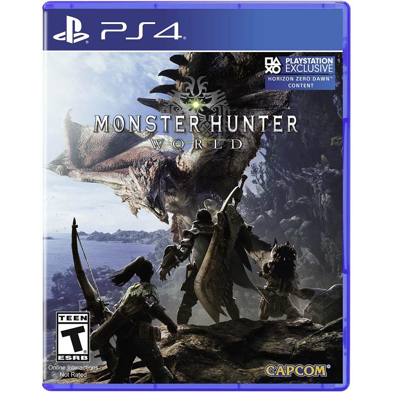 Đĩa Game Ps4: Monster Hunter World Hệ Mỹ