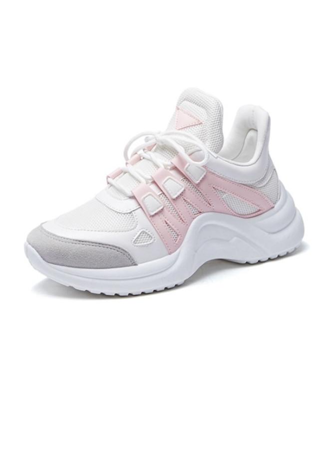 Sneaker Giày Nữ Độn Đế Màu Trắng Đen Xám Nguyên Khối Ấn Tượng Năng Động - 2335513 , 4749543902711 , 62_15169382 , 378000 , Sneaker-Giay-Nu-Don-De-Mau-Trang-Den-Xam-Nguyen-Khoi-An-Tuong-Nang-Dong-62_15169382 , tiki.vn , Sneaker Giày Nữ Độn Đế Màu Trắng Đen Xám Nguyên Khối Ấn Tượng Năng Động