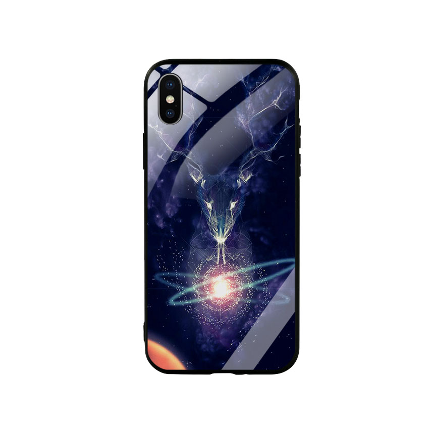 Ốp Lưng Kính Cường Lực cho điện thoại Iphone X / Xs - Deer 02 - 6111334 , 3373232925432 , 62_14803934 , 250000 , Op-Lung-Kinh-Cuong-Luc-cho-dien-thoai-Iphone-X--Xs-Deer-02-62_14803934 , tiki.vn , Ốp Lưng Kính Cường Lực cho điện thoại Iphone X / Xs - Deer 02