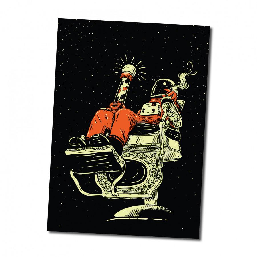 Sticker decal dán tường - BARBER 1