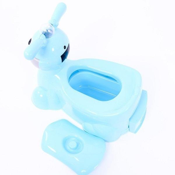 Bô vệ sinh cho bé hình thỏ có phát nhạc VN5453 (giao màu ngẫu nhiên)