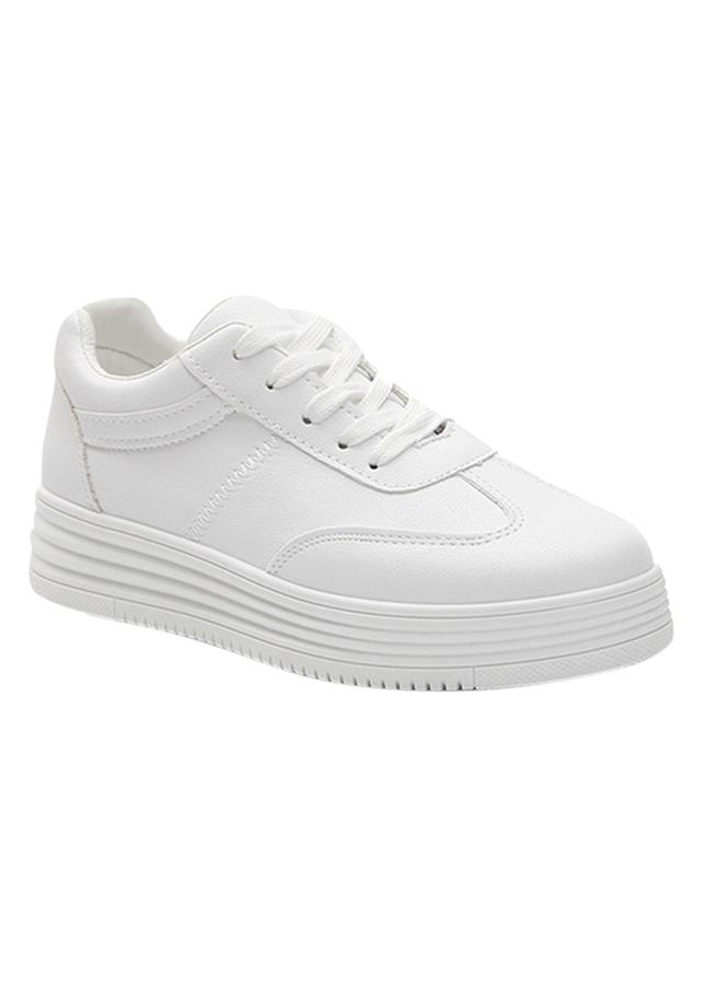 Giày Sneaker Nữ Tăng Chiều Cao GTCC03 - Trắng