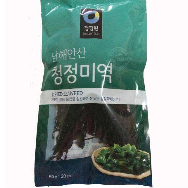 Rong Biển Khô Daesang Hàn Quốc 50gr