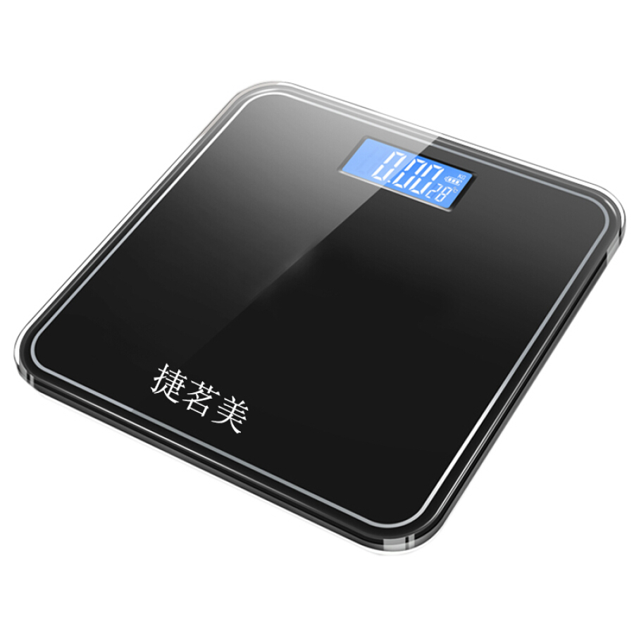 Cân Điện Tử Pin Sạc USB Có Hiển Thị Nhiệt Độ Jieyimei