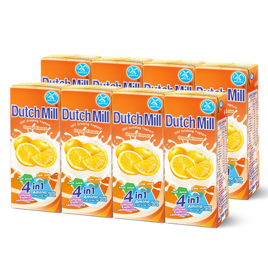 Combo 2 Lốc Sữa Chua Uống Dutch Mill Vị Cam  (180ml x 8 hộp) - 1906474 , 4541977278826 , 62_14615026 , 68000 , Combo-2-Loc-Sua-Chua-Uong-Dutch-Mill-Vi-Cam-180ml-x-8-hop-62_14615026 , tiki.vn , Combo 2 Lốc Sữa Chua Uống Dutch Mill Vị Cam  (180ml x 8 hộp)