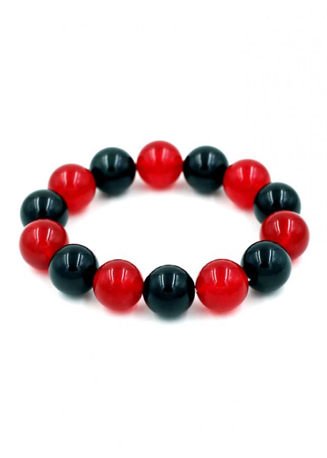 Vòng đeo tay chuỗi hạt đá thạch anh đỏ đen - Sản phẩm phong thủy phù hợp cho nam và nữ - 2039527 , 4002686916534 , 62_11712546 , 360000 , Vong-deo-tay-chuoi-hat-da-thach-anh-do-den-San-pham-phong-thuy-phu-hop-cho-nam-va-nu-62_11712546 , tiki.vn , Vòng đeo tay chuỗi hạt đá thạch anh đỏ đen - Sản phẩm phong thủy phù hợp cho nam và nữ