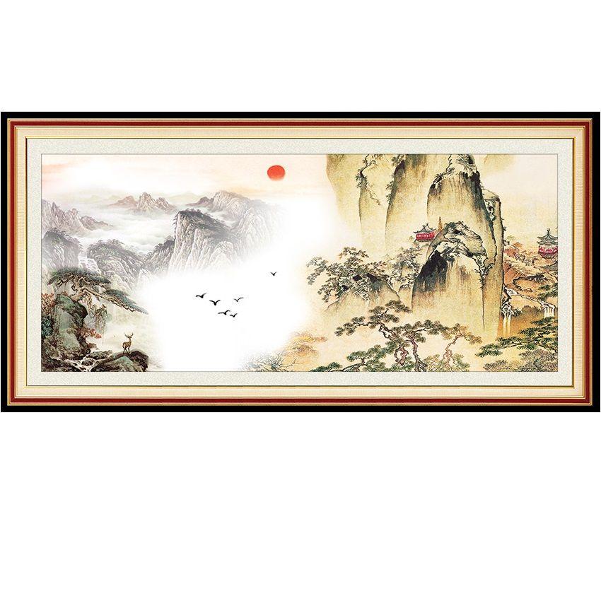 Tranh dán tường 3D bằng vải lụa cao cấp hình núi cao chọc trời hòa quyện cùng mây - 2143995 , 3102000467825 , 62_13669286 , 450000 , Tranh-dan-tuong-3D-bang-vai-lua-cao-cap-hinh-nui-cao-choc-troi-hoa-quyen-cung-may-62_13669286 , tiki.vn , Tranh dán tường 3D bằng vải lụa cao cấp hình núi cao chọc trời hòa quyện cùng mây