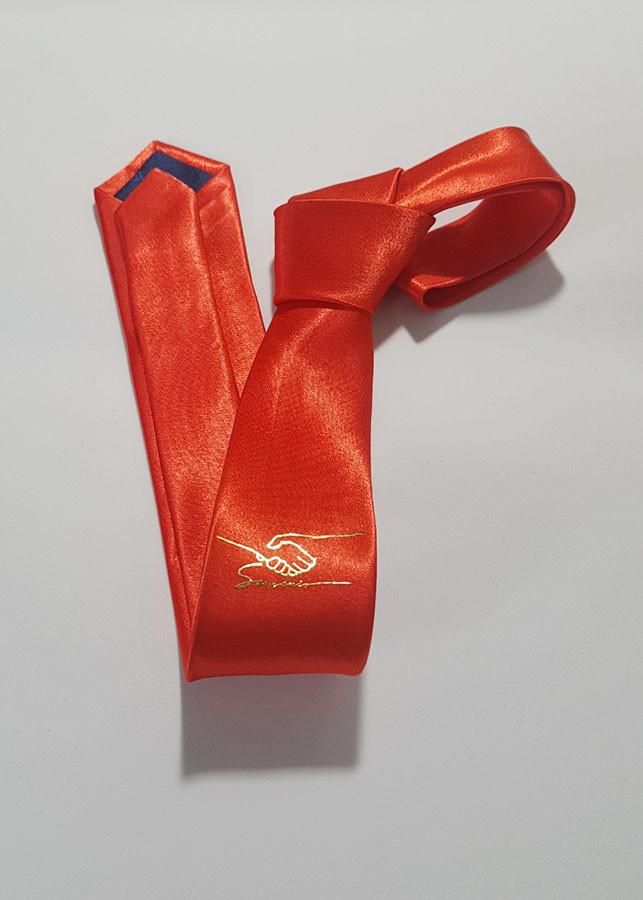 Cà Vạt Dát Vàng họa tiết