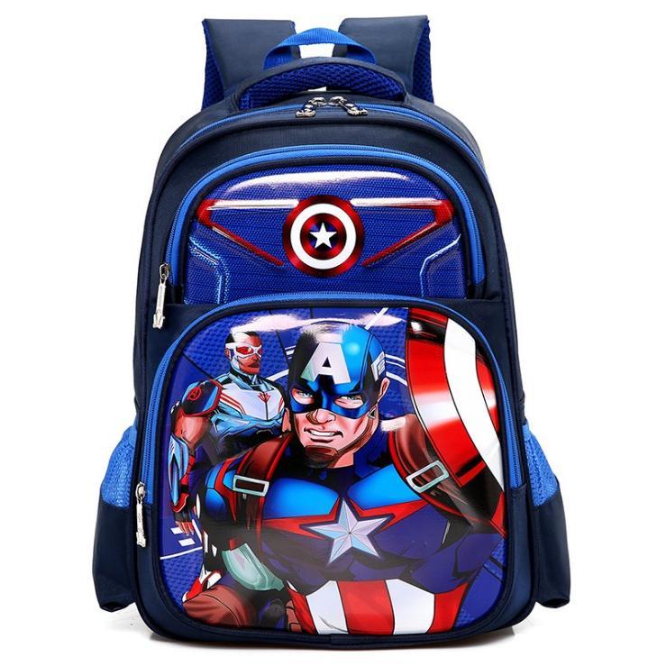 Balo Học Sinh Hình Captain America (40 x 28 cm) - 997361 , 1189770161292 , 62_2700161 , 420000 , Balo-Hoc-Sinh-Hinh-Captain-America-40-x-28-cm-62_2700161 , tiki.vn , Balo Học Sinh Hình Captain America (40 x 28 cm)