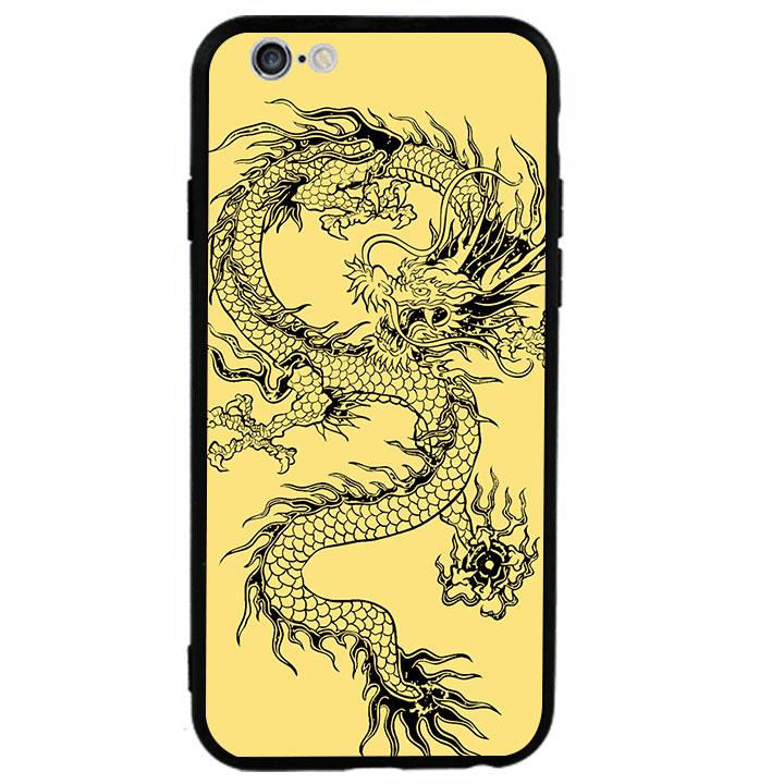 Ốp lưng viền TPU cao cấp cho Iphone 6 Plus - Dragon 02