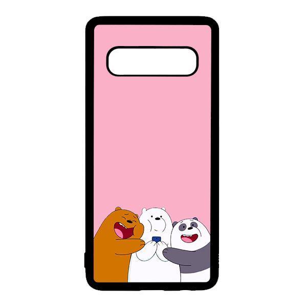 Ốp lưng điện thoại dành cho Samsung S10  3 Chú Gấu