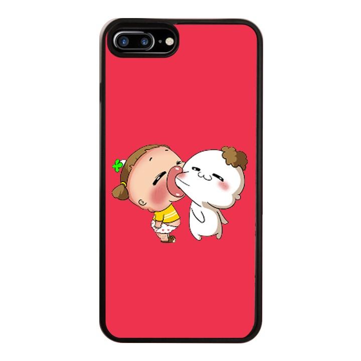 Ốp Lưng Kính Cường Lực Dành Cho Điện Thoại iPhone 7 Plus / 8 Plus Quỳnh AKA Mẫu 5
