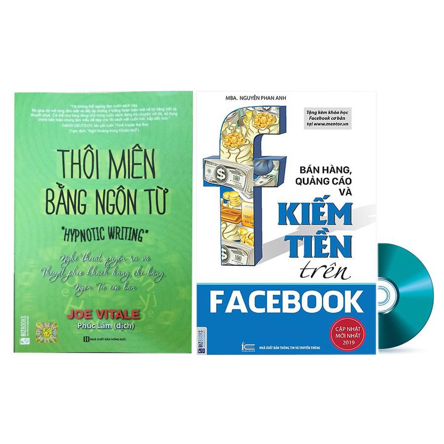 Combo Thôi Miên Bằng Ngôn Từ Và Bán Hàng, Quảng Cáo Kiếm Tiền Trên Facebook Tặng DVD Kho Tài Liệu Nghệ Thuật Viết... - 1578004 , 4695515037625 , 62_10381300 , 358000 , Combo-Thoi-Mien-Bang-Ngon-Tu-Va-Ban-Hang-Quang-Cao-Kiem-Tien-Tren-Facebook-Tang-DVD-Kho-Tai-Lieu-Nghe-Thuat-Viet...-62_10381300 , tiki.vn , Combo Thôi Miên Bằng Ngôn Từ Và Bán Hàng, Quảng Cáo Kiếm Tiền Trên