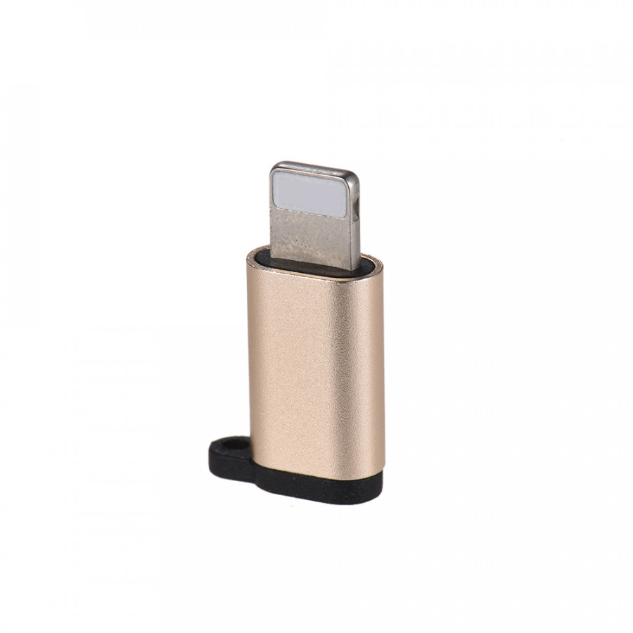 Aluminum Alloy Android Micro USB Female to Lightning Male Sync Data Converter Charging Adapter for iPhone iPad Data - 812035 , 3746318301411 , 62_14719839 , 153000 , Aluminum-Alloy-Android-Micro-USB-Female-to-Lightning-Male-Sync-Data-Converter-Charging-Adapter-for-iPhone-iPad-Data-62_14719839 , tiki.vn , Aluminum Alloy Android Micro USB Female to Lightning Male Sync
