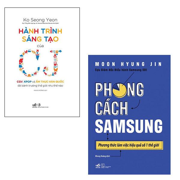 Combo Hành Trình Sáng Tạo Của CJ + Phong Cách Samsung - 1735933 , 7882576004858 , 62_14766308 , 259000 , Combo-Hanh-Trinh-Sang-Tao-Cua-CJ-Phong-Cach-Samsung-62_14766308 , tiki.vn , Combo Hành Trình Sáng Tạo Của CJ + Phong Cách Samsung