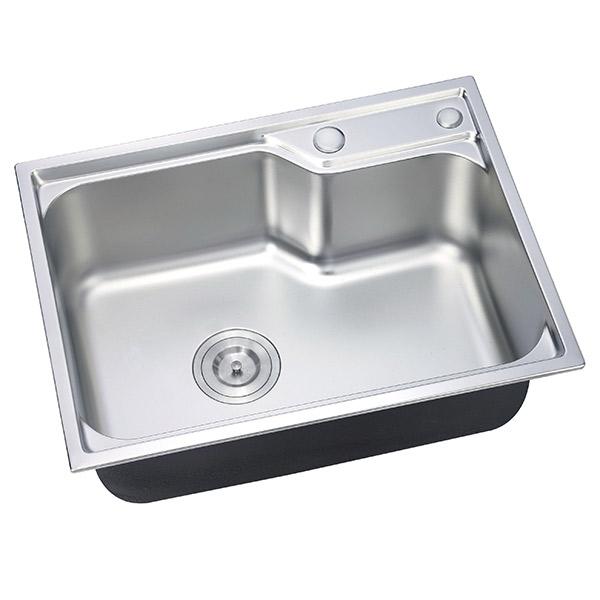 Chậu rửa chén Inox 1 hộc Eurolife EL-C6 (Trắng bạc) - 1105629 , 2963434162349 , 62_14288183 , 1210000 , Chau-rua-chen-Inox-1-hoc-Eurolife-EL-C6-Trang-bac-62_14288183 , tiki.vn , Chậu rửa chén Inox 1 hộc Eurolife EL-C6 (Trắng bạc)