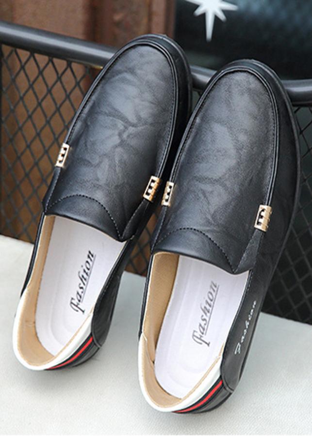 Giày Da Nam Phong Cách Hàn Quốc [BT52- Đen, BT53-Nâu]