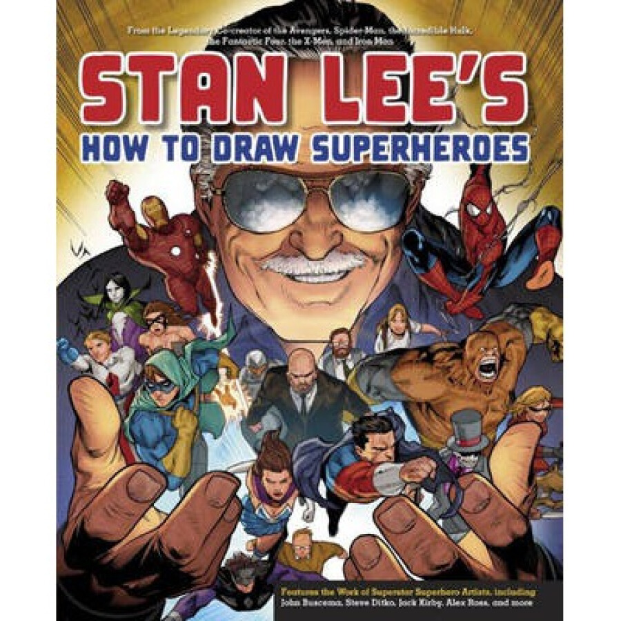 Stan Lees How to Draw Superheroes  From the Leg - 1237557 , 3973832559367 , 62_5271855 , 481000 , Stan-Lees-How-to-Draw-Superheroes-From-the-Leg-62_5271855 , tiki.vn , Stan Lees How to Draw Superheroes  From the Leg