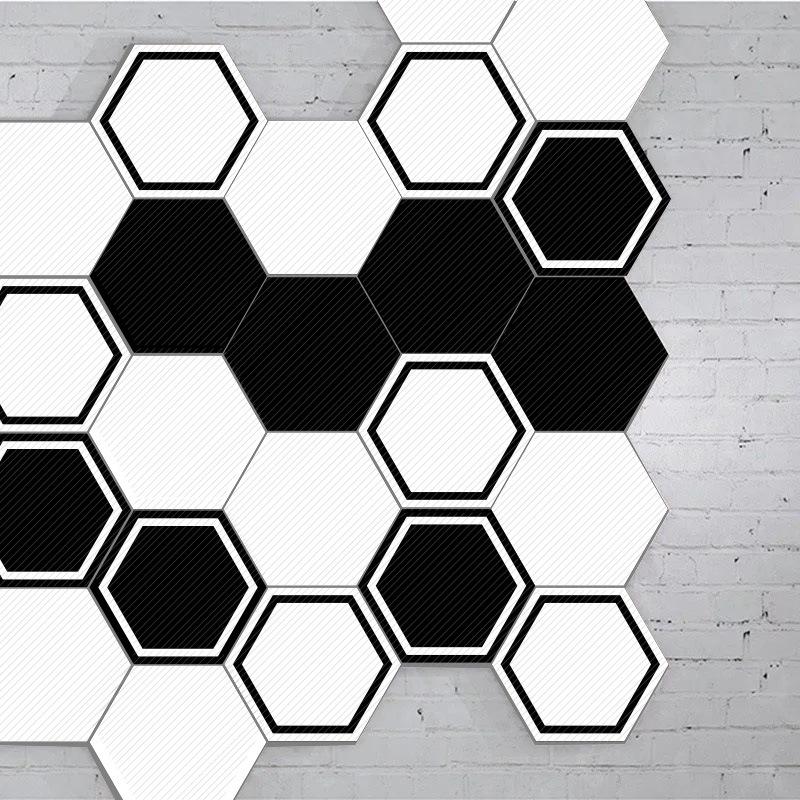 Gạch Hình Lục Giác (Bộ 10 cái)