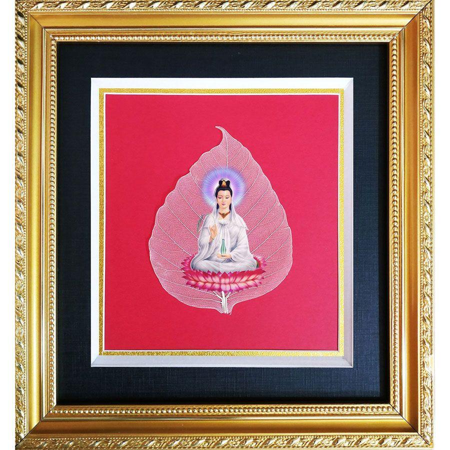 Tranh Phật Quan Âm Trên Là Bồ Đề HPB-2324