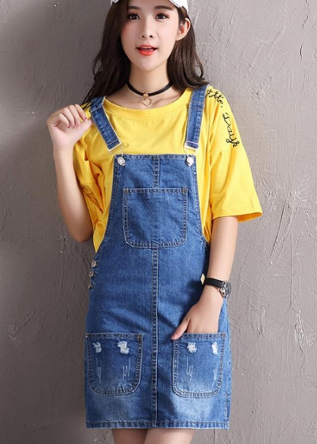 1346032720646 - Váy yếm jean ngắn VYN06 C140