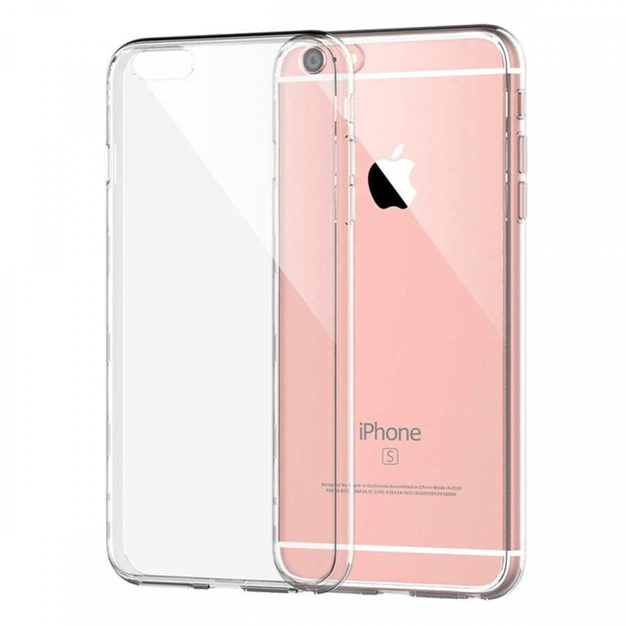 Ốp lưng silicon dẻo cho iPhone 6 Plus / 6s Plus 0.6mm (Trong suốt) - 1365582 , 1715527162924 , 62_8209706 , 50000 , Op-lung-silicon-deo-cho-iPhone-6-Plus--6s-Plus-0.6mm-Trong-suot-62_8209706 , tiki.vn , Ốp lưng silicon dẻo cho iPhone 6 Plus / 6s Plus 0.6mm (Trong suốt)