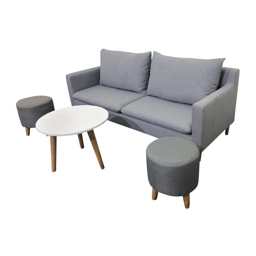 Bộ Sofa Băng New Euro 2018 180 x 75 x 75 cm (Xám)