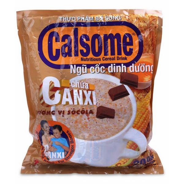 Ngũ Cốc Dinh Dưỡng Calsome Chứa Canxi Hương Vị Socola (500g)