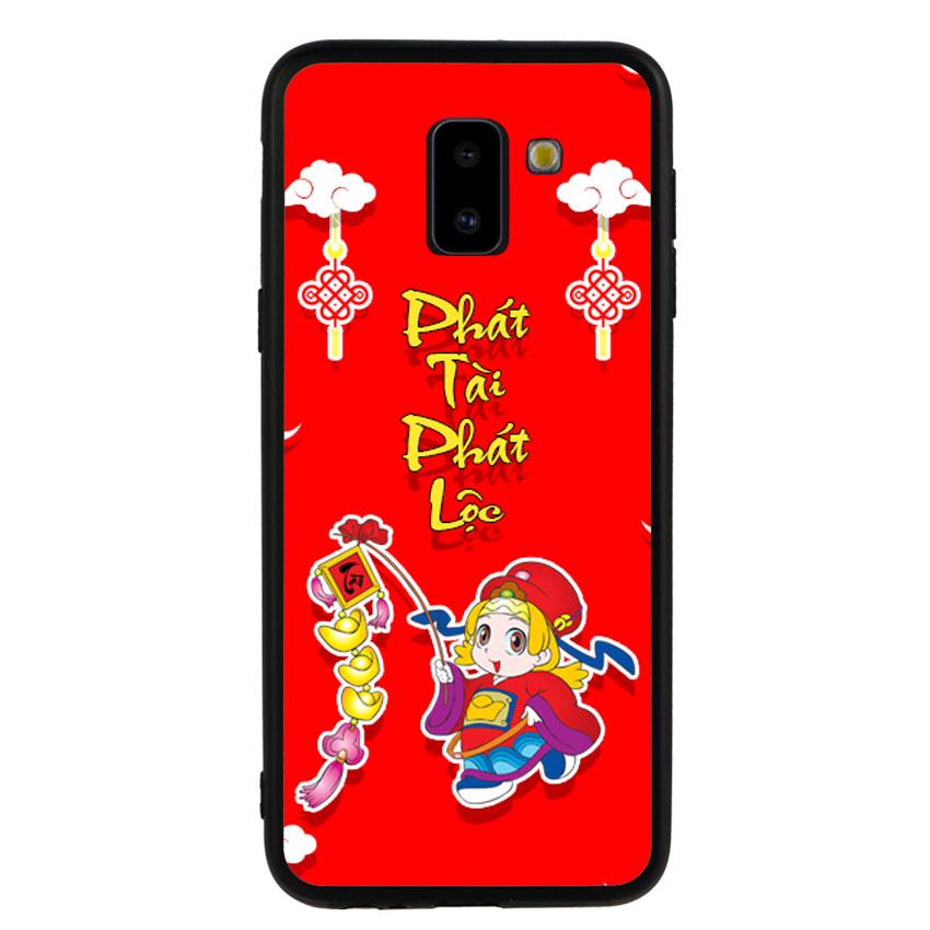 Ốp Lưng Viền TPU cho điện thoại Samsung Galaxy J6 2018 -Thần Tài 03