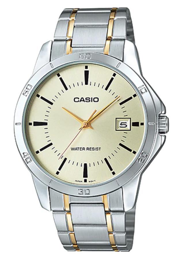 Đồng hồ nam dây kim loại Casio MTP-V004SG-9AUDF