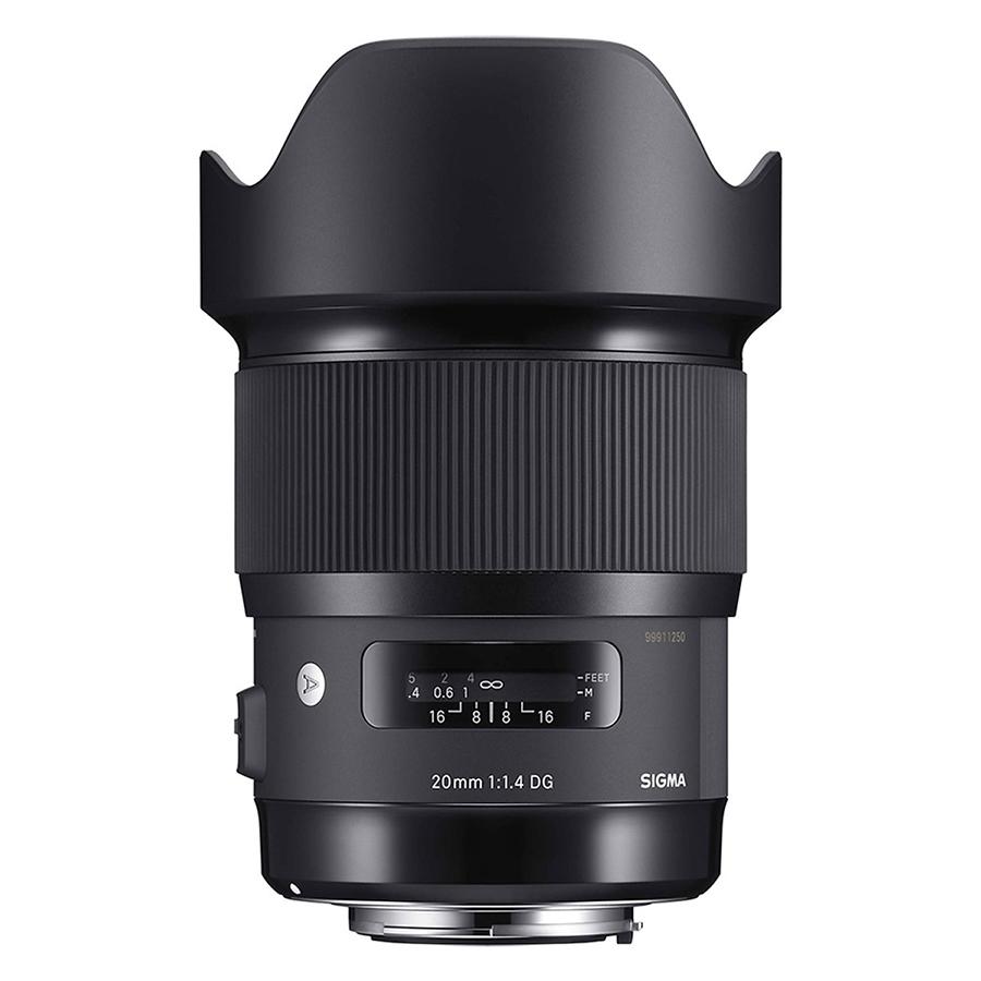 Ống Kính Sigma 20mm F1.4 DG HSM Art For Nikon - Hàng Nhập Khẩu - 2020923 , 6945747384904 , 62_15287872 , 15690000 , Ong-Kinh-Sigma-20mm-F1.4-DG-HSM-Art-For-Nikon-Hang-Nhap-Khau-62_15287872 , tiki.vn , Ống Kính Sigma 20mm F1.4 DG HSM Art For Nikon - Hàng Nhập Khẩu