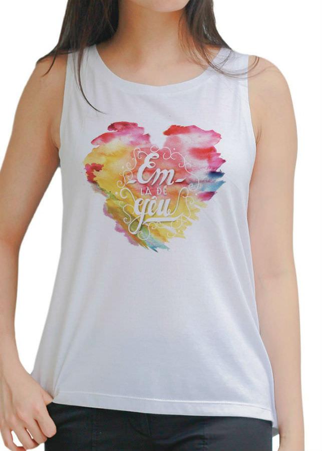 Áo Tanktop Nữ Em Là Để Yêu 2 - Trắng