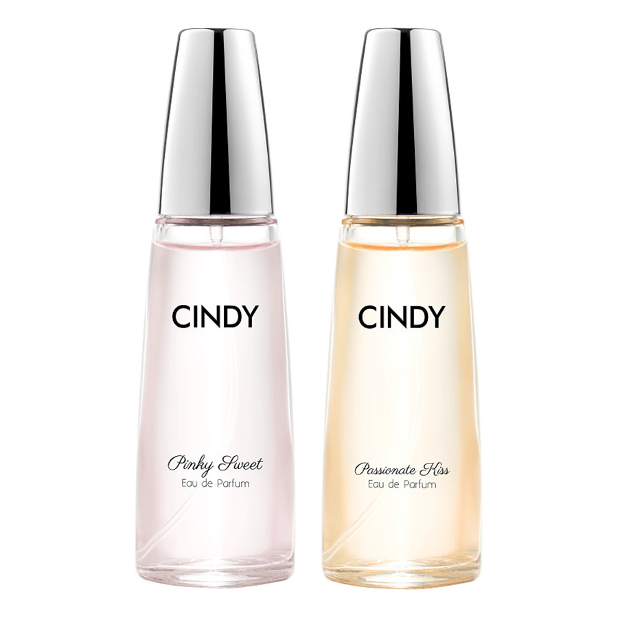Bộ nước hoa Cindy 30ml (Passionate Kiss + Pinky Sweet)