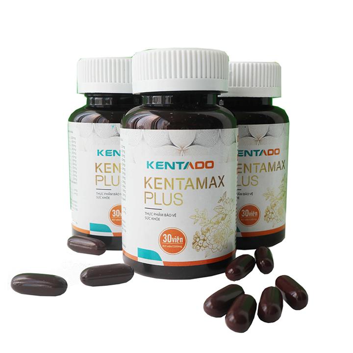 [ Combo ] 04 Kentamax plus giúp tăng cân từ thảo dược và hoạt chất