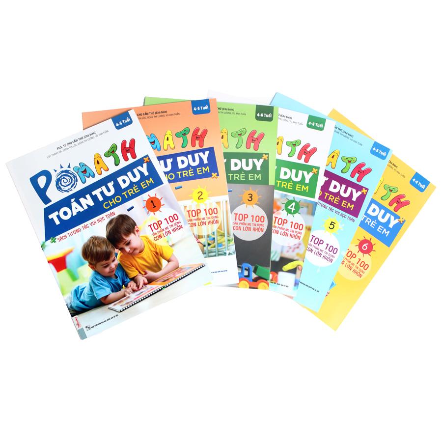 Bộ sách POMath Toán tư duy cho trẻ em 4 đến 6 tuổi (6 cuốn) - 1838716 , 3405860047412 , 62_14550520 , 594000 , Bo-sach-POMath-Toan-tu-duy-cho-tre-em-4-den-6-tuoi-6-cuon-62_14550520 , tiki.vn , Bộ sách POMath Toán tư duy cho trẻ em 4 đến 6 tuổi (6 cuốn)