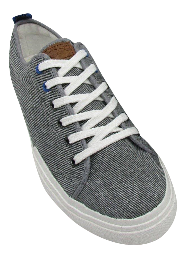 Giày Sneaker Nam Vải Cox Shoes - Xám