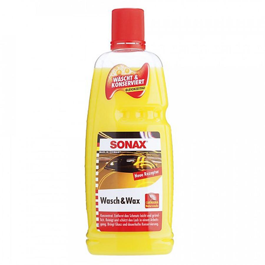 Xà phòng rửa xe Sonax Wash  Wax 313341 - 1000ml