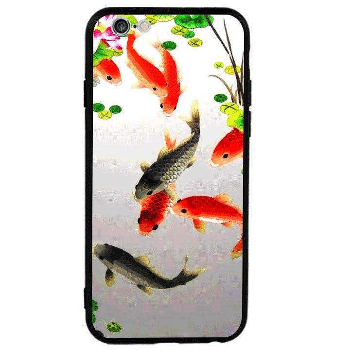 Ốp lưng viền TPU cao cấp cho Iphone 6 Plus - Fishes 03
