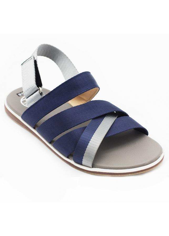 Giày sandal 3 quai chéo nam thời trang Everest A448 xanh