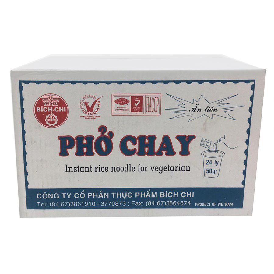 Thùng 24 Ly Phở Ăn Liền Chay Bích Chi (50g/Ly) - 7224234 , 6661958080489 , 62_14620271 , 171000 , Thung-24-Ly-Pho-An-Lien-Chay-Bich-Chi-50g-Ly-62_14620271 , tiki.vn , Thùng 24 Ly Phở Ăn Liền Chay Bích Chi (50g/Ly)