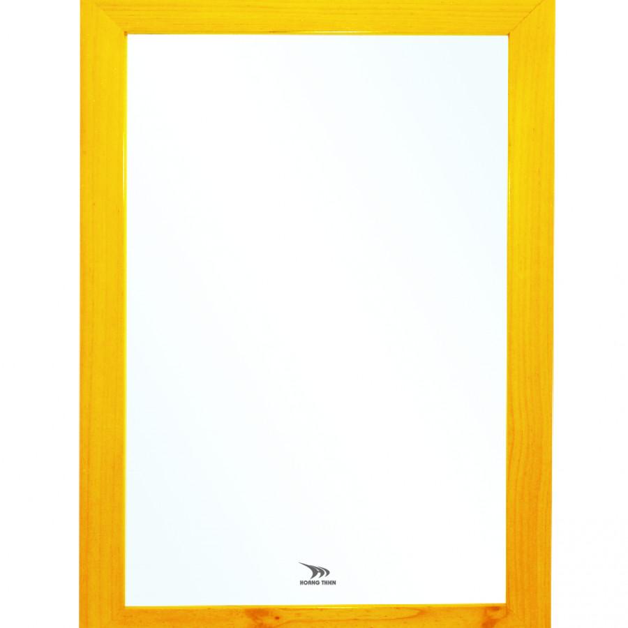 Gương khung gỗ tự nhiên Hoàng Thiện HT 9901