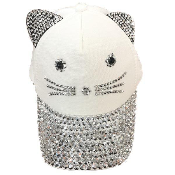 Mũ Kim Tuyến Hình Con Mèo Cho Bé