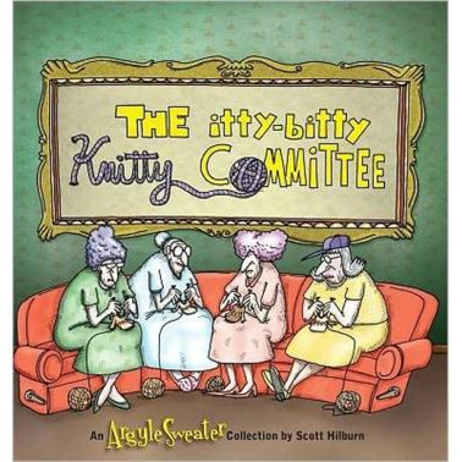 The Itty-Bitty Knitty Committee: An Argyle Sweater Collection